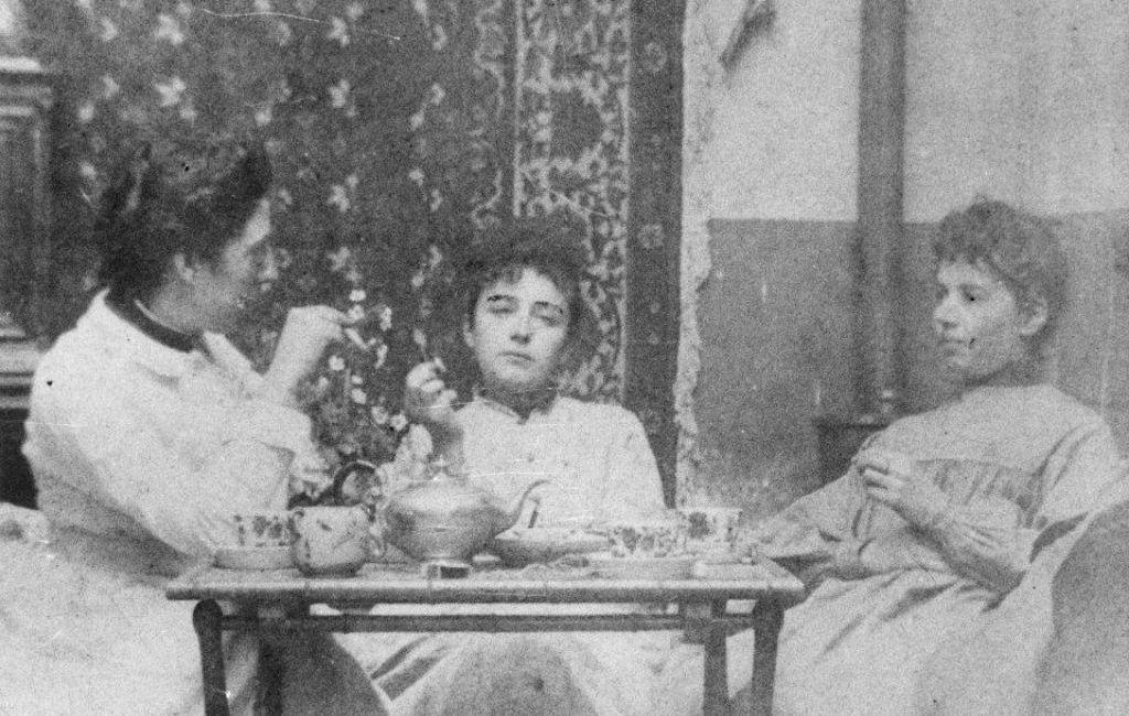 Fotografia di Camille Claudel con Jessie Lipscomb e Amy Singer