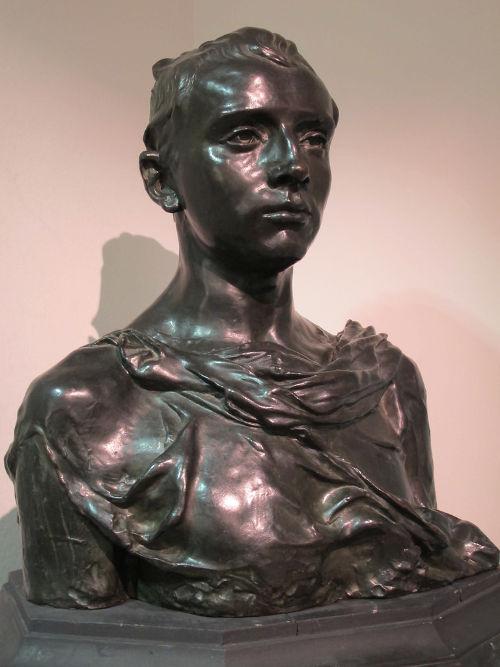 Paul Claudel, scultura realizzata da Camille Claudel