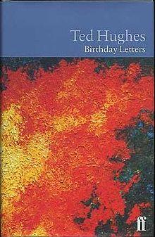 la copertina della prima edizione di Birthday Letter di Ted Hughes del 1998