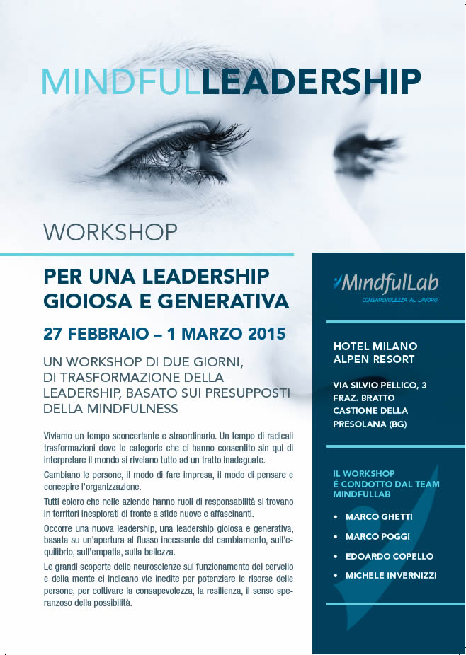 Locandina Mindful Leadership