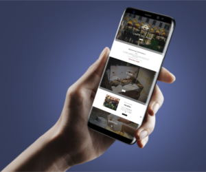 Mockup del sito Panella