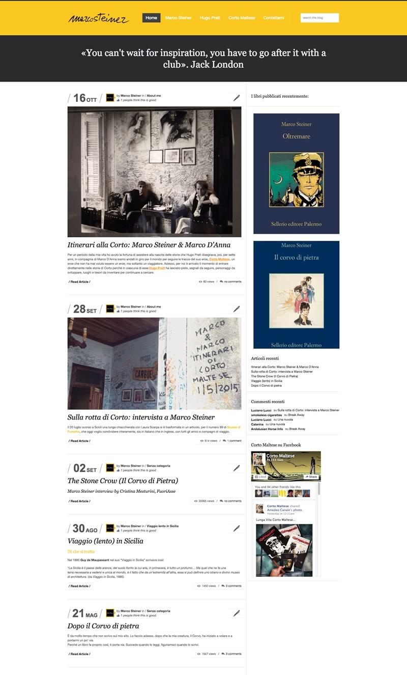 Website Marco Steiner