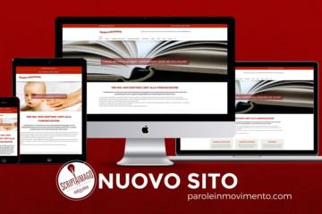 Website design Parole in Movimento