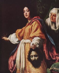 Cristofano Allori, Giuditta con la testa di Oloferne, 1612; Firenze, Galleria Palatina.