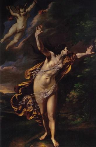 Artemisia Gentileschi, Aurora, 1625-1627 ca.; Roma, collezione privata.