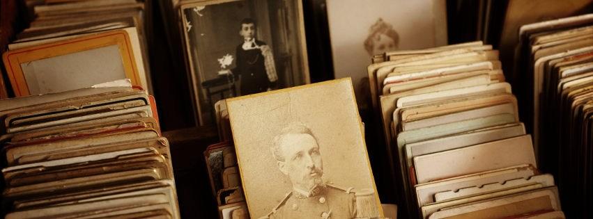 profilo facebook immagine copertina con archivio fotografico con tre foto antiche