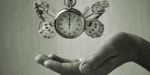 Cronometro con le ali