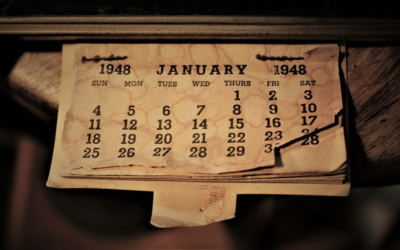 Calendario 1948 e mese di gennaio