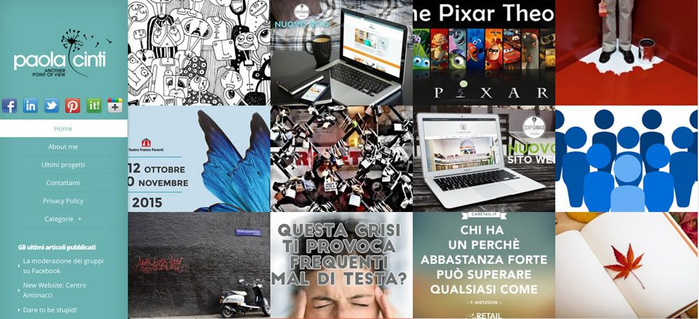 paola cinti website 2012