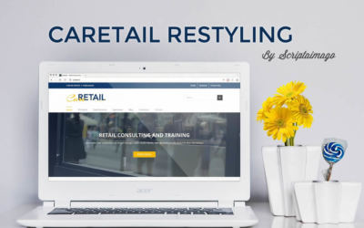 Website design Caretail Restyling