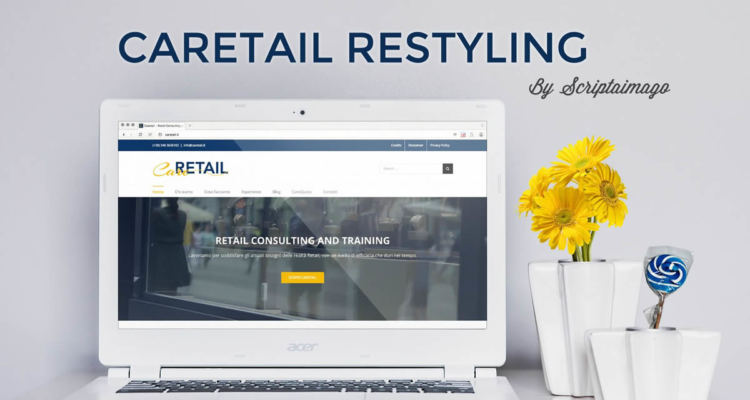 Website design Caretail Restyling