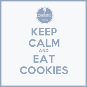 Keep calm and eat cookie