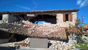 Stalla dopo le scosse di terremoto